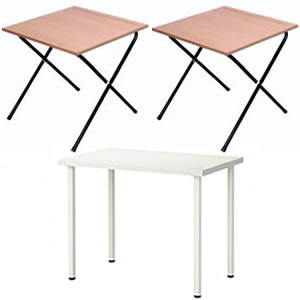 exam desk rental