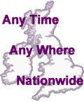 any time, any where, nationwide