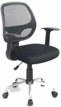 Rental black Rebel operator chair