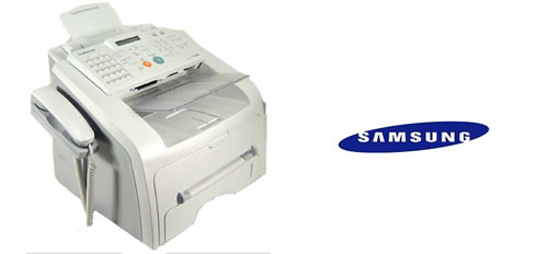 Samsung fax machine with handset rental
