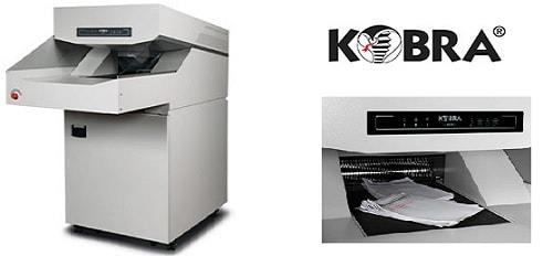 Kobra 430TS level 3 heavy duty paper shredder rental