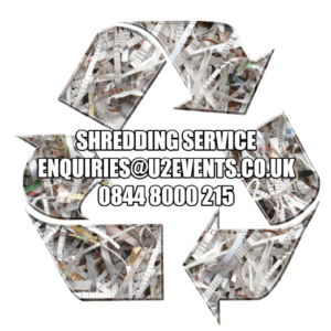 Shredding and recycling service